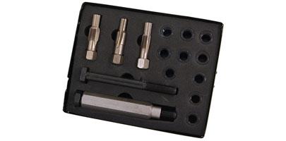 Mekanik Glow Plug Thread Repair Kit Set 33pc Cylinder Heads M8 M10 M12 M14