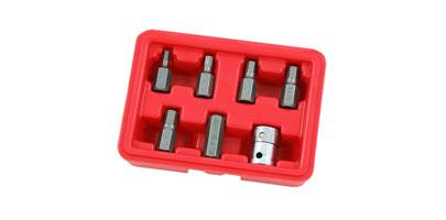 """7 Piece Extra Long SPLINE Socket Set 3//8/"""" Drive  M4 M5 M6 M7 M8 M9 M10"""