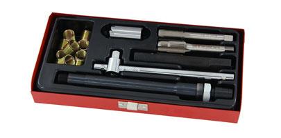 Tap /& Inserts CT2233 10mm Spark Plug Thread Repair Re-Thread Ports Tool Set